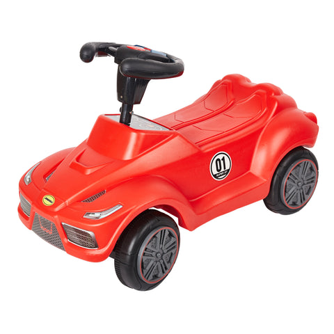 Bosonshop Baby's Red Push Ride On Toy Car, Red