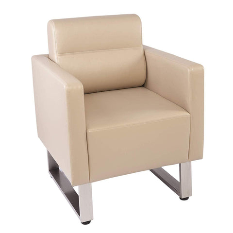 Bosonshop Arm Chair PU Leather Single Sofa Chair Furniture