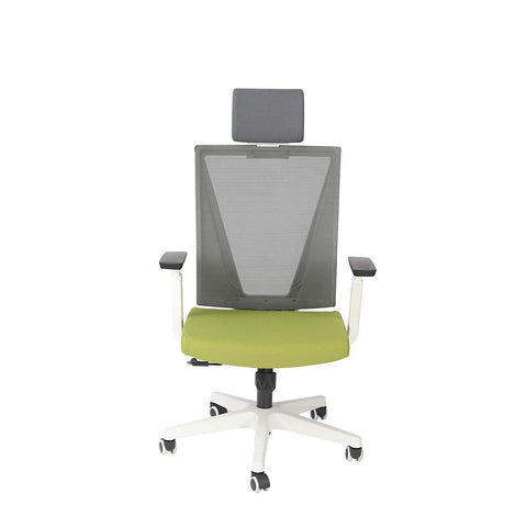 Bosonshop High Back Swivel Chair for Desk with Adjustable Headrest Office Chair Breathable Mesh Ergonomic Desk Chair
