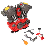 Bosonshop Build Your Own Engine Power Play Set with Tool