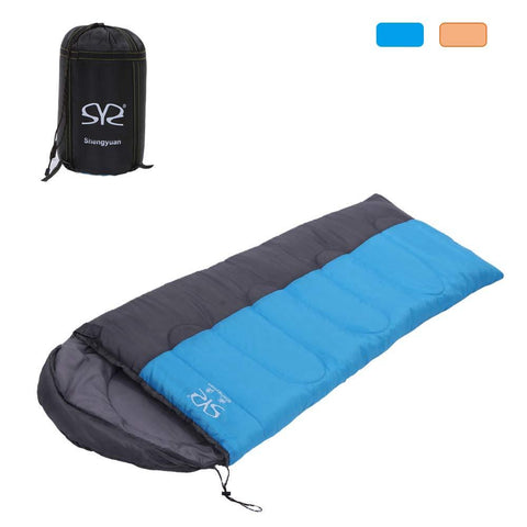 Bosonshop 3 Season Outdoor Envelope Sleeping Bag Lightweight Portable for Camping