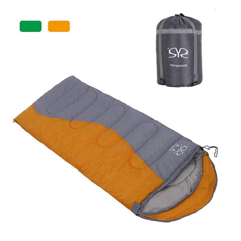 Bosonshop adult 3 Season OutdoorEnvelope Sleeping Bag Lightweight Portable for Camping