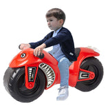 Bosonshop Ride On Motorcycle, Durable & Easy to Ride Toddler Bike, Red