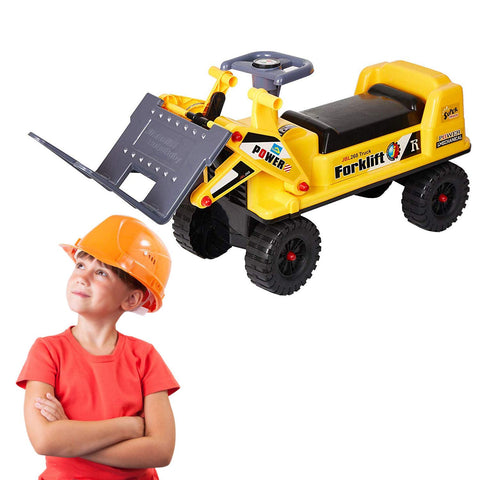 Bosonshop PRide-on Forklift Construction Truck Toy for Children