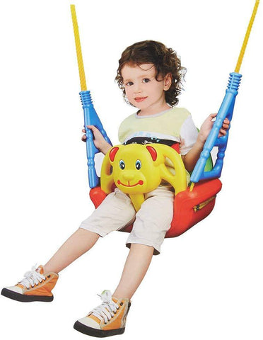 Bosonshop Toddler Swing Seat Hanging Swing Set for Playground Swing Set