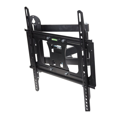Bosonshop TV Wall Mount for 23-55 inch TV Adjustable TV Holder with Full Motion Swivel Articulating Dual Arms Black