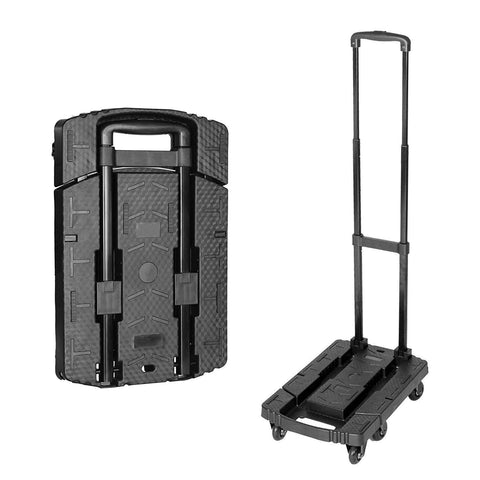 Folding Luggage Cart Lightweight Travel Hand Truck Trolley for Travel, Moving and Office Use