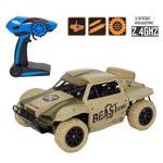 Bosonshop Toys Rock Crawler Remote Control RC High Performance Truck 2.4 GHz Control System 4WD All-Weather 1:18 Size