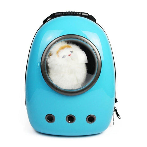 Bosonshop Pets Carrier Backpack Traveler Bubble Space Capsule Travel Bag Breathable Tote