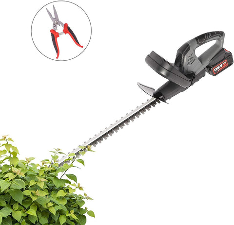 23 Inch Cordless Hedge Trimmer YL-580E 20V Electric Garden Tool