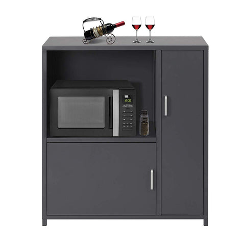 microwave / coffee maker locker adjustable large capacity home and office multifunctional storage cabinet