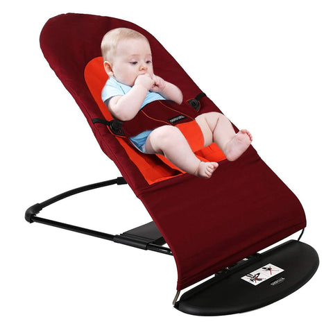 Bosonshop Baby Bouncer Balance Soft Rocking Chair,Automatic Swing Bring Fun Experience, Cotton