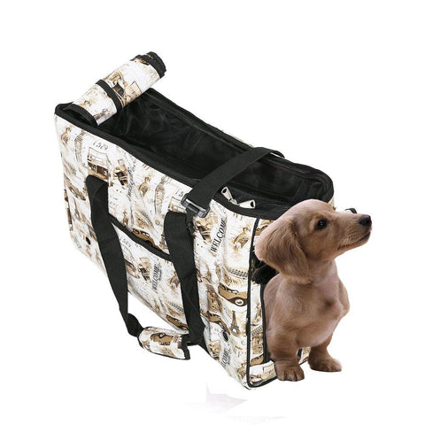 Bosonshop Pet Carrier Shoulder Bag Handbag for Pets