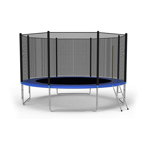 10' Trampoline with Safety Net Ladder & Spring Pad