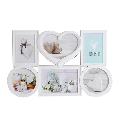 Bosonshop Home Creative Collage Wall-Mounted Plastic Photo Frame