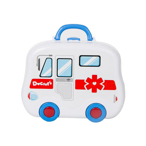 Bosonshop Little Doctor Kit Medical Box Pretend Play Toy for Toddler