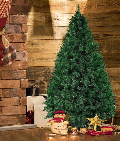 Bosonshop 7ft Premium Spruce Artificial Christmas Pine Tree Gorgeous Holiday Tree with 1000 Tips