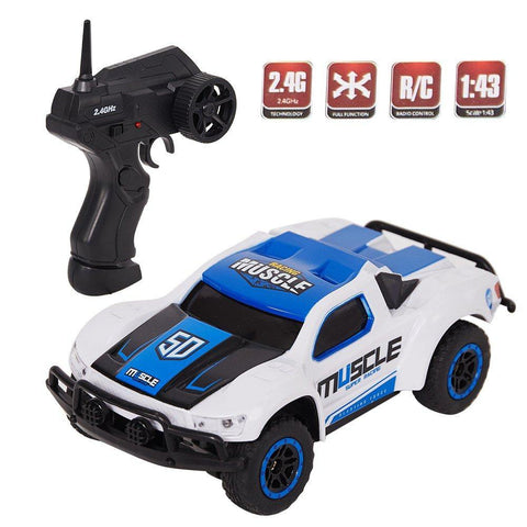 Bosonshop Remote Control Car Mini RC Racing Coupe Cars with Rechargeable Battery