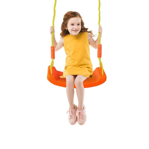 Bosonshop Kids Swing Play Set Indoor and Outdoor Home Swing with Shelf Baby Hanging Seat for Backyard