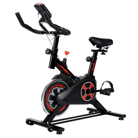 Bosonshop Indoor Cycling Bike, Stationary Bicycle with LED Display for Home Gym