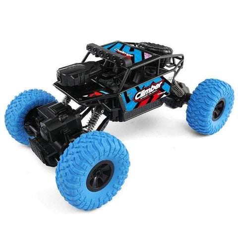 Bosonshop RC Hobby Toys Off-Road Sport Cars 4WD 2.4Ghz Rock Crawler Vehicle Truck with Wi-Fi HD Camera