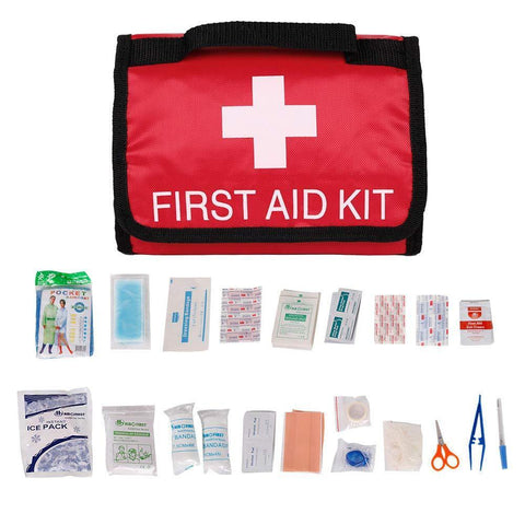 Bosonshop First Aid Kit Portable Medical Kit for Home and Outdoor
