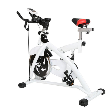 Bosonshop Indoor Stationary Bicycle with LED Display for Home Gym