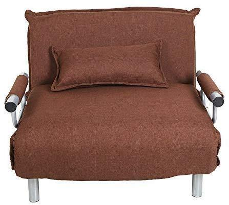 Foldable one person Single Sofa Bed Sleeper Leisure Recliner