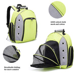 Bosonshop Breathable pet Carrier Backpack with fold-able Breathable mesh Window