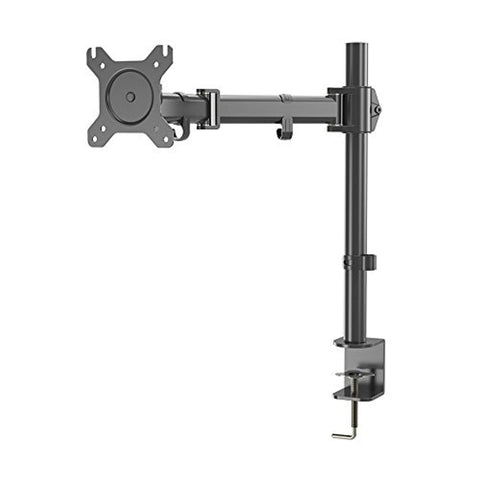 "Bosonshop Single LCD Monitor Stand,Adjustable Lift Engine Arm Mount,Suitable for13""-27""Computer Monitor"