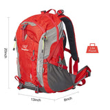 Bosonshop Hiking Backpack Outdoor Camping Daypack Rain Cover