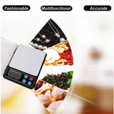 Bosonshop Digital Food Scale Kitchen Small Baking Scale Weigh in Gram, OZ, LB, KG, CT