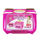 Bosonshop Girl Hairdresser Pretend Play Toy Fashion Beauty Play Set