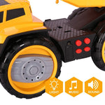 Bosonshop Battery Powered Construction Vehicle Truck Push Engineering Toy Cars Children Kid Toys
