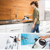 Bosonshop Multi-Purpose Handheld Steamer Cleaner High Pressure Chemical Free Steamer with 14-Piece Accessories