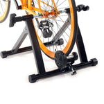 Bosonshop Portable Magnetic Bicycle Indoor Exercise with Noise Reduction Wheel Black