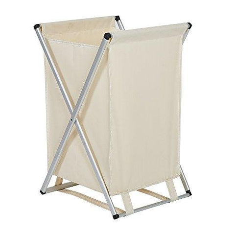 Bosonshop Laundry Hamper for Kids Collapsible with Alumium Steel Frame and Oxford Cloth, Single