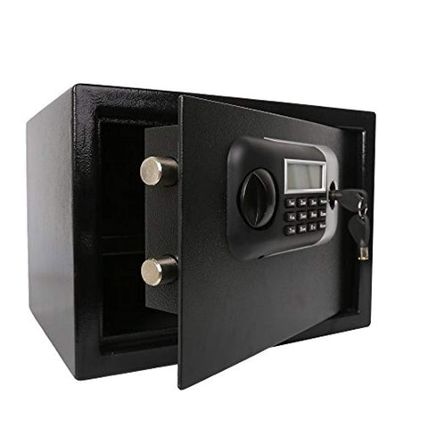 Bosonshop Electronic Digital Security Safe Box Home Safe Cabinet Safes with Fingerprint Recognition