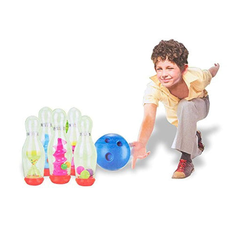 Bosonshop Plastic Bowling Set for Kids