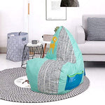 Bosonshop 3 Feet Bean Bag Chair Cute Cartoon Sofa Seat for Children (Deer Pattern)