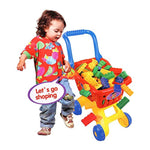 Bosonshop Shopping Cart for Kids Building Blocks Toy