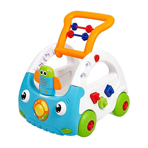 Bosonshop Baby Sit to Stand Learning Walker Push Car Activity Walker with Music and Lights for Kids