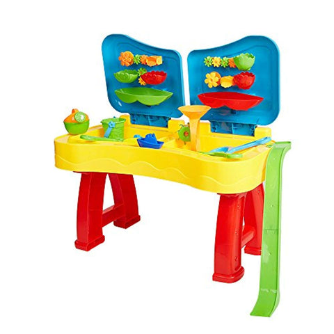 Bosonshop Sandbox Sand and Water Table Beach Toys Set Beach Play Table Sand for Children
