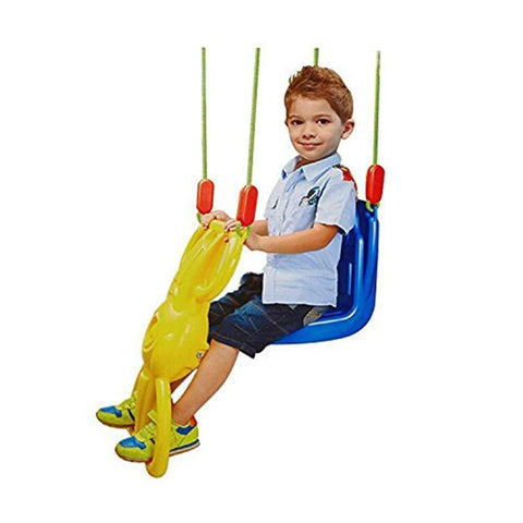 Bosonshop Heavy Duty Glider Swing for Kids Fun Swing Seat