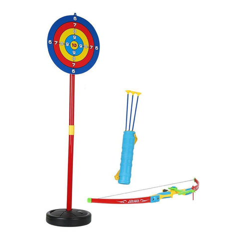 Bosonshop Kids Bow & Arrow Archery Set Outdoor Garden Fun Game