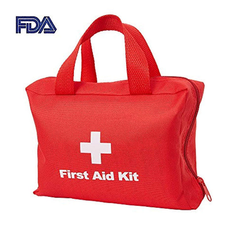 Bosonshop First Aid Kit & Red Cross Medical Emergency Equipment Kits