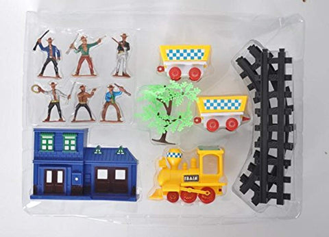 Bosonshop Wild West Cowboys and Indians Toy Plastic Figures