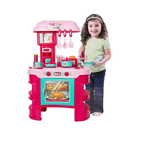 Bosonshop Kids Kitchen Table Playsets for Toddler Girls