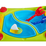 Bosonshop Outdoor Sand and Water Table Activity Table and Waterpark Play Table for Toddlers