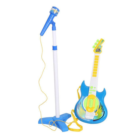 Bosonshop Kids Music Guitar Players Karaoke Toy with Micphone